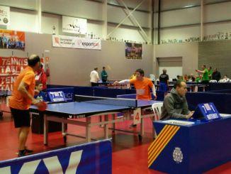 campionat catlunya tennis taula discapacitat intel·lectual borges blanqeus