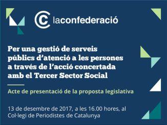 claus proposta tercer sector gestió serveis públics atenció persones