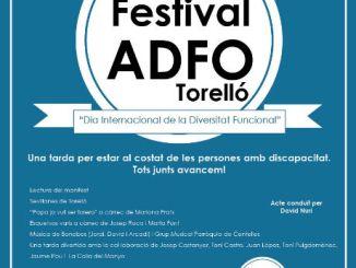 festival adfo torelló dia persones discapacitat
