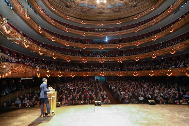 'La Nit més IN' omple el Gran Teatre del Liceu en un espectacle protagonitzat per artistes amb discapacitat