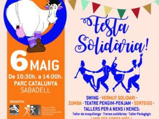cartell festa solidaria gresca atendis sabadell