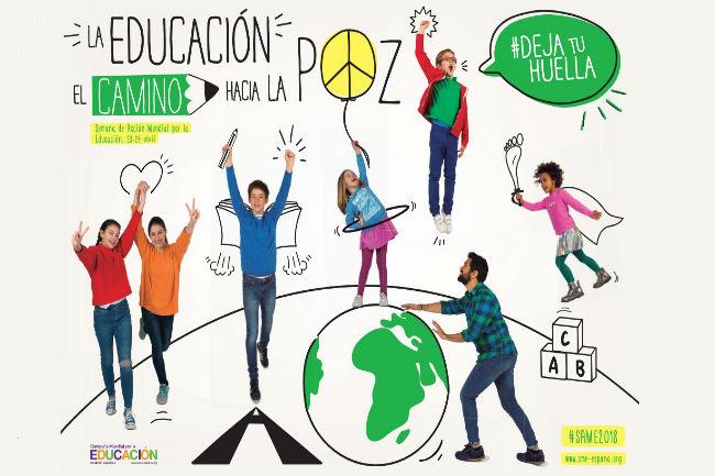 cartell setmana accio mundial educacio inclusiva