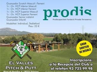 cartell torneig pitch putt vallès golf