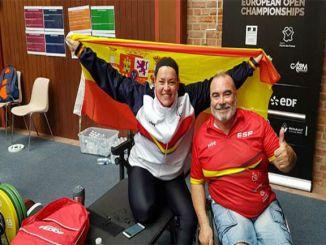 montse alcoba medalla plata campionat europa powerliifting