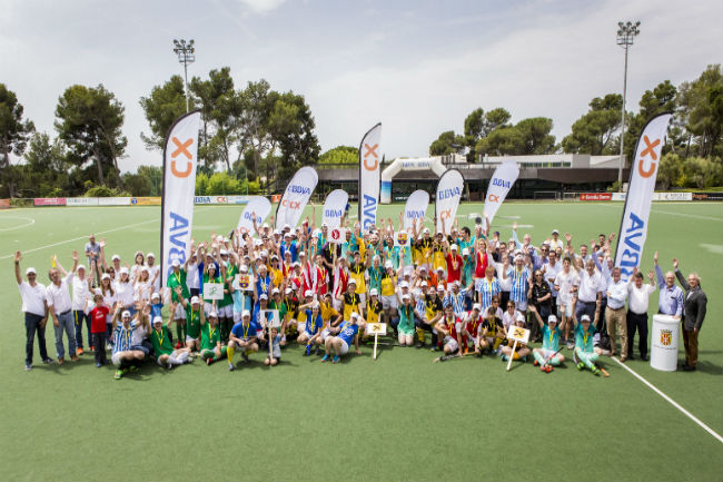 Foto Cloenda Lliga BBVA Hockey Plus 2018