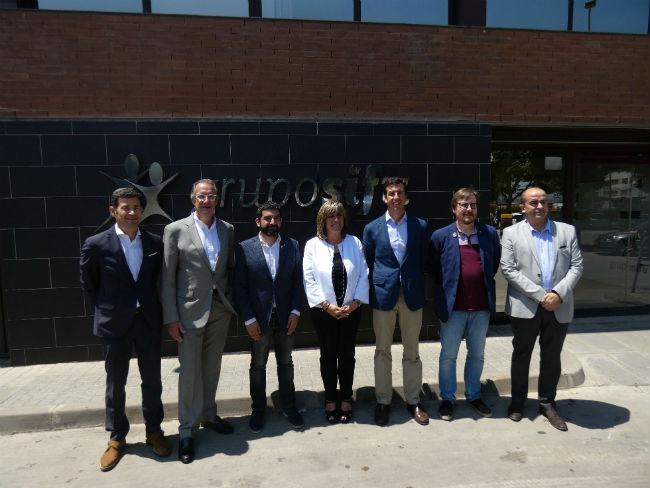 Visita a Grupo SIFU Nuria Marin Chakir El Homrani