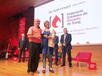 consellera alba vergès donacions sang catalunya