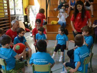 festa cloenda programa youth athletes escola crespinell terrassa