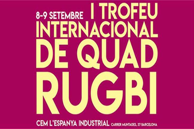 cartell trofeu internacional barcelona quad rugbi