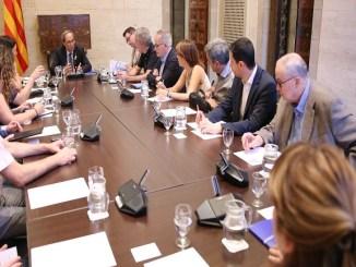 taula tercer sector president generalitat prioritats urgències socials