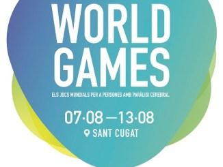 cartell jocs mundials paràlisi cerebral sant cugat catalunya