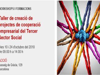 cartell taller creació oportunitats empresarial tercer sector