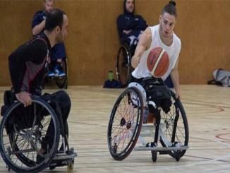 Òscar Onrubia concentració selecció espanyola bàsquet cadira de rodes