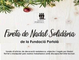 fira solidària nadal fundació portolà