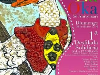 desfilada solidària 5è aniversari la oka terrassa