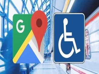 google maps rutes adaptades mobilitat reduïda ciutats