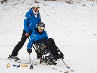jornada esquí adaptat inclusiva diferents discapacitats