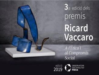 Premis Ricard Vaccaro ètica compromís social