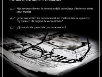 cartell esmorzars converses periodistes estigma salut mental mitjans