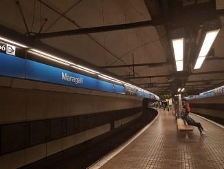 estació maragall intercanviador obres accessible
