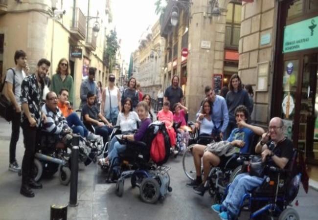 estudiants arquitectura estudi dades accessibilitat comercos barcelona