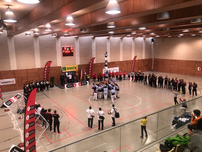 seleccio catalana torneig internacional ciutat barcelona goalball
