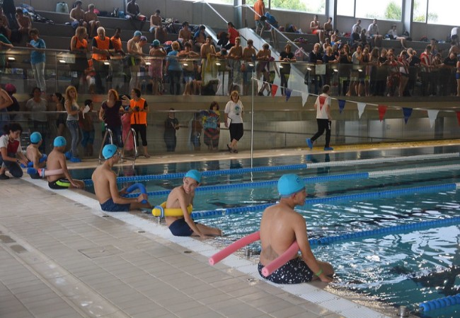 prat jornada escolar natacio esportistes discapacitat
