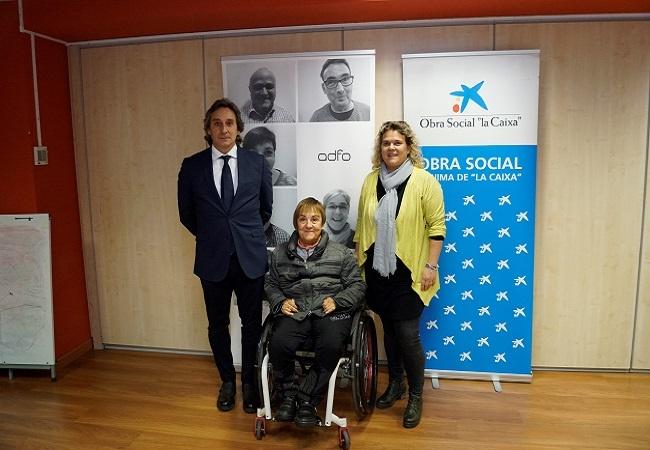 conveni la caixa adfo vida autonoma persones discapacitat
