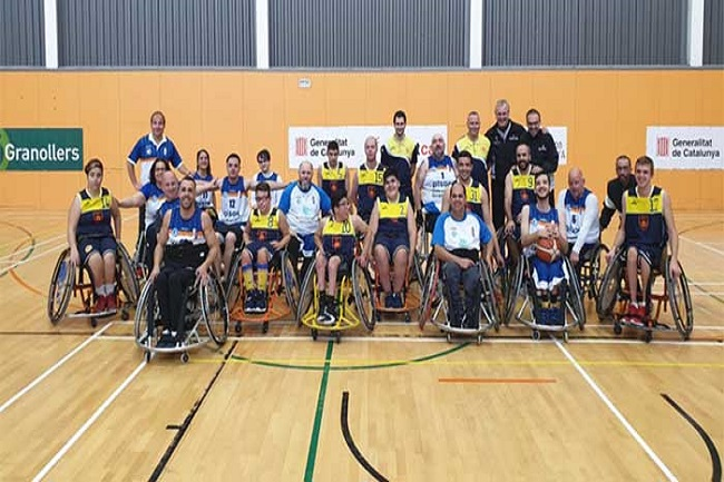 setena jornada lliga catalana basquet cadira rodes