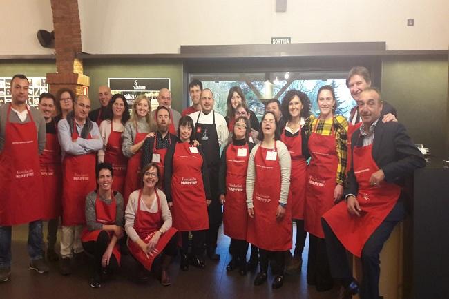 taller gastronomic restaurant la boscana persones discapacitat