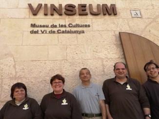 treballadors mas alborna guies museu vi catalunya