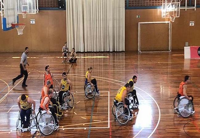 bamesad victoria lliga catalana basquet cadira rodes