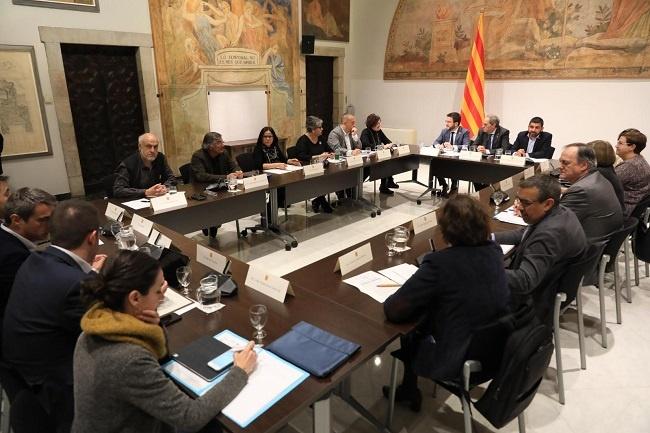 reunio mesa unitaria activacio politiques socials finançament
