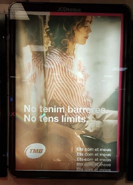 campanya publicitària metro barcelona