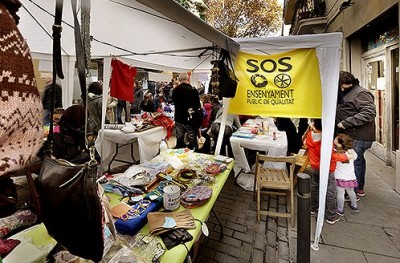 Diverses fotografies de la Mostra Solidària del Farró. Fotografies de Javier Sardá