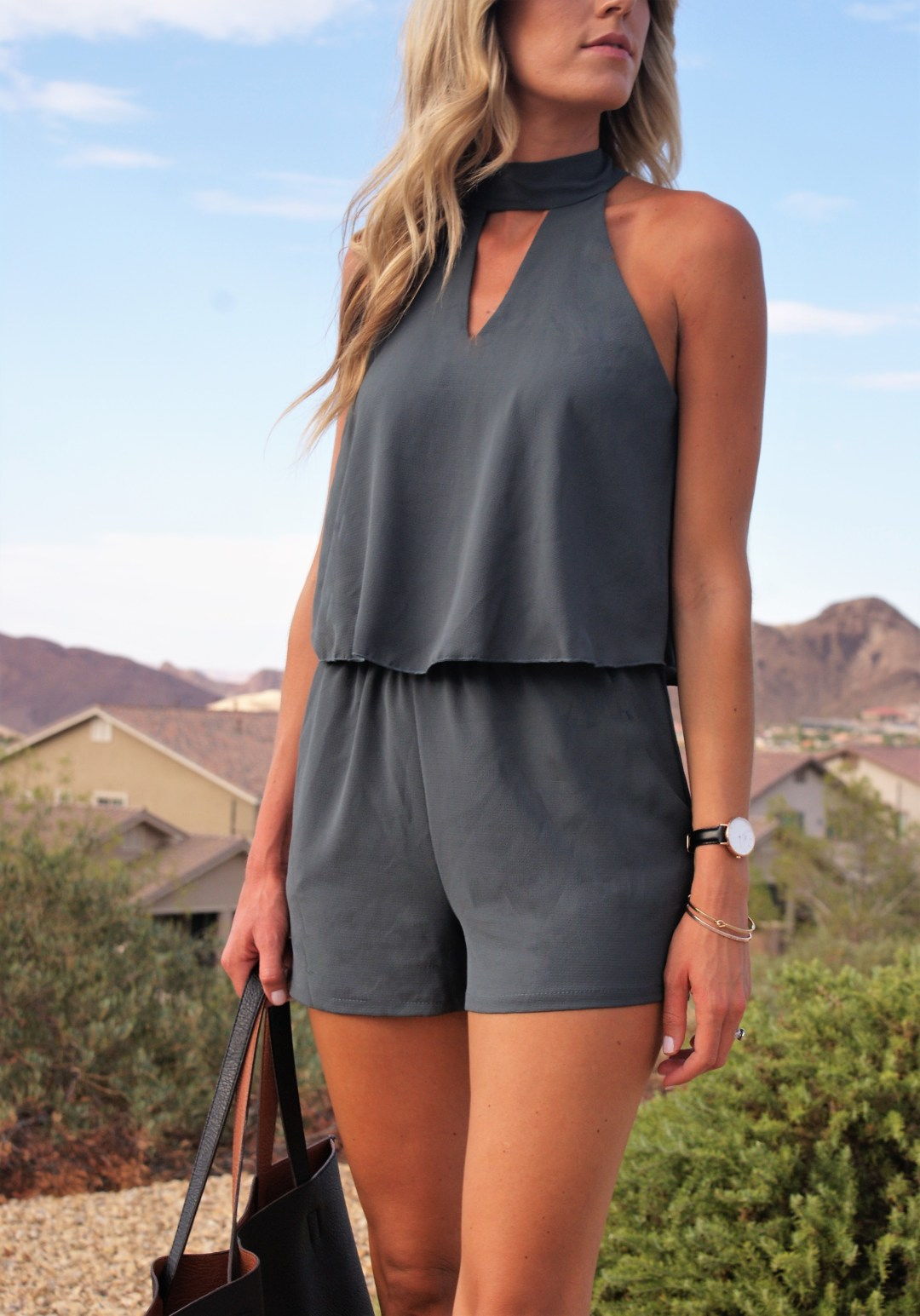 Taking a romper from day to night- Diariesofdanielle.com