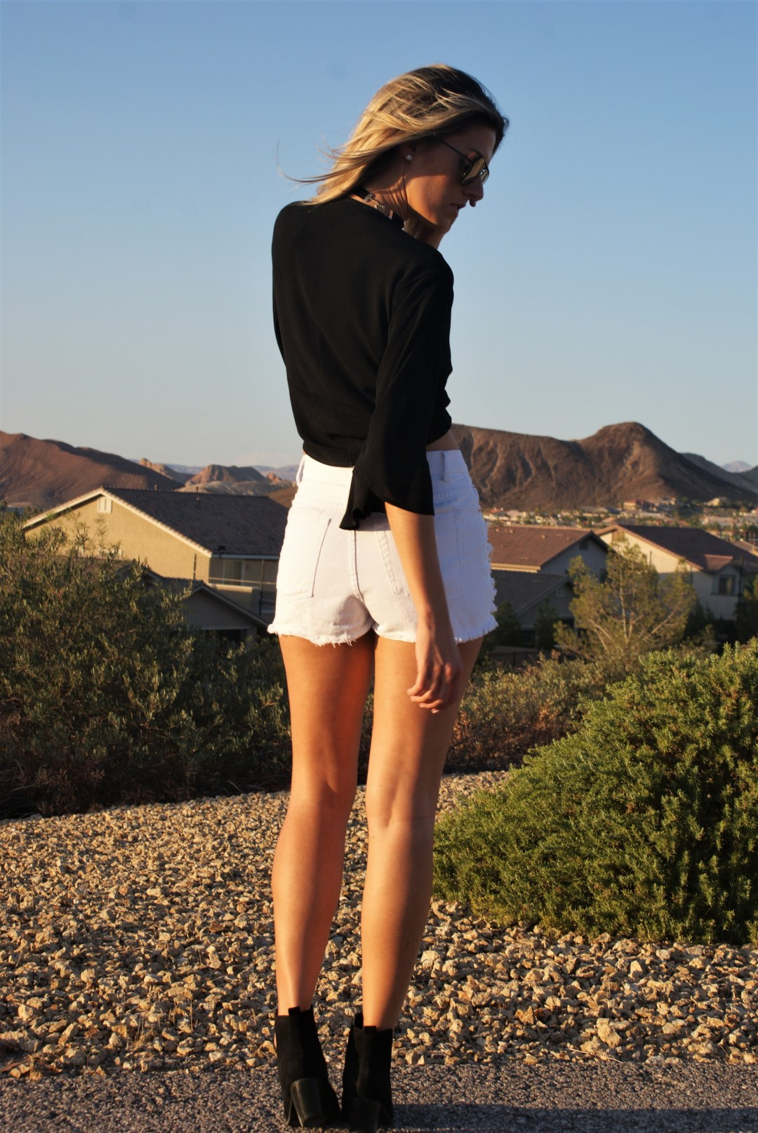 Black & White At Golden Hour- Diariesofdanielle.com