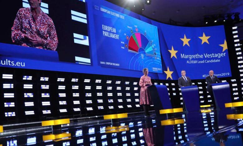 Parlamento Europeo en elecciones