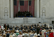 Tributo Memorial en Arlington, Virginia