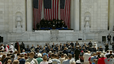 Photo of VIDEO EN VIVO: Tributo Memorial en Arlington, Virginia