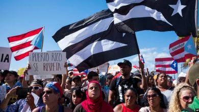Protesta Boricua contra Rosselló
