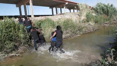 Patrulla fronteriza busca a niña desparecida en el río Bravo 8