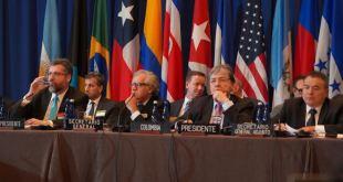 Inicia en Nueva York reunión de cancilleres de la OEA por el TIAR 6