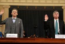 Photo of Diplomáticos testifican públicamente contra el presidente Trump