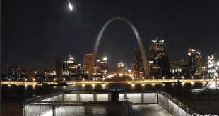 Meteorito surca el cielo de Missouri; captado en video 6