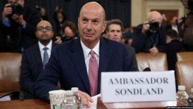 Audiencia de juicio político a Trump: Sondland dice que seguía órdenes del presidente 5