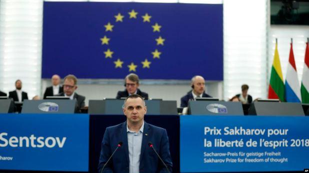 """""""Cuidado con Rusia"""", advierte a Europa cineasta ucraniano Oleg Sentsov 1"""