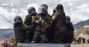 Ejército y policía patrullan calles de Bolivia, líder legislativa convoca a sesión extraordinaria 7