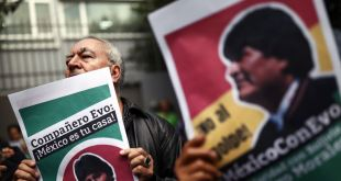 El expresidente Evo Morales parte de Bolivia en un avión hacia México 1