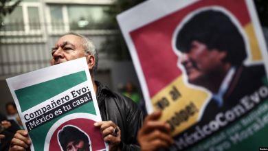 El expresidente Evo Morales parte de Bolivia en un avión hacia México 3